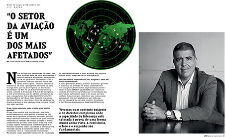Groundforce CEO Paulo Leite